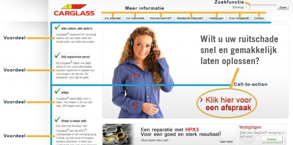 Carglass website