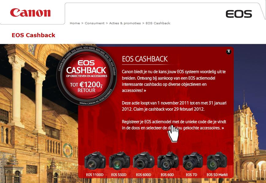 Canon EOS Cashback